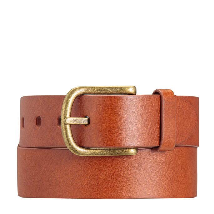 Status Anxiety Dust To Dust Leather Belt - Tan