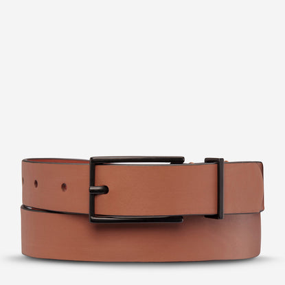 Status Anxiety Lonesome Tonight Women's Leather Belt - Tan