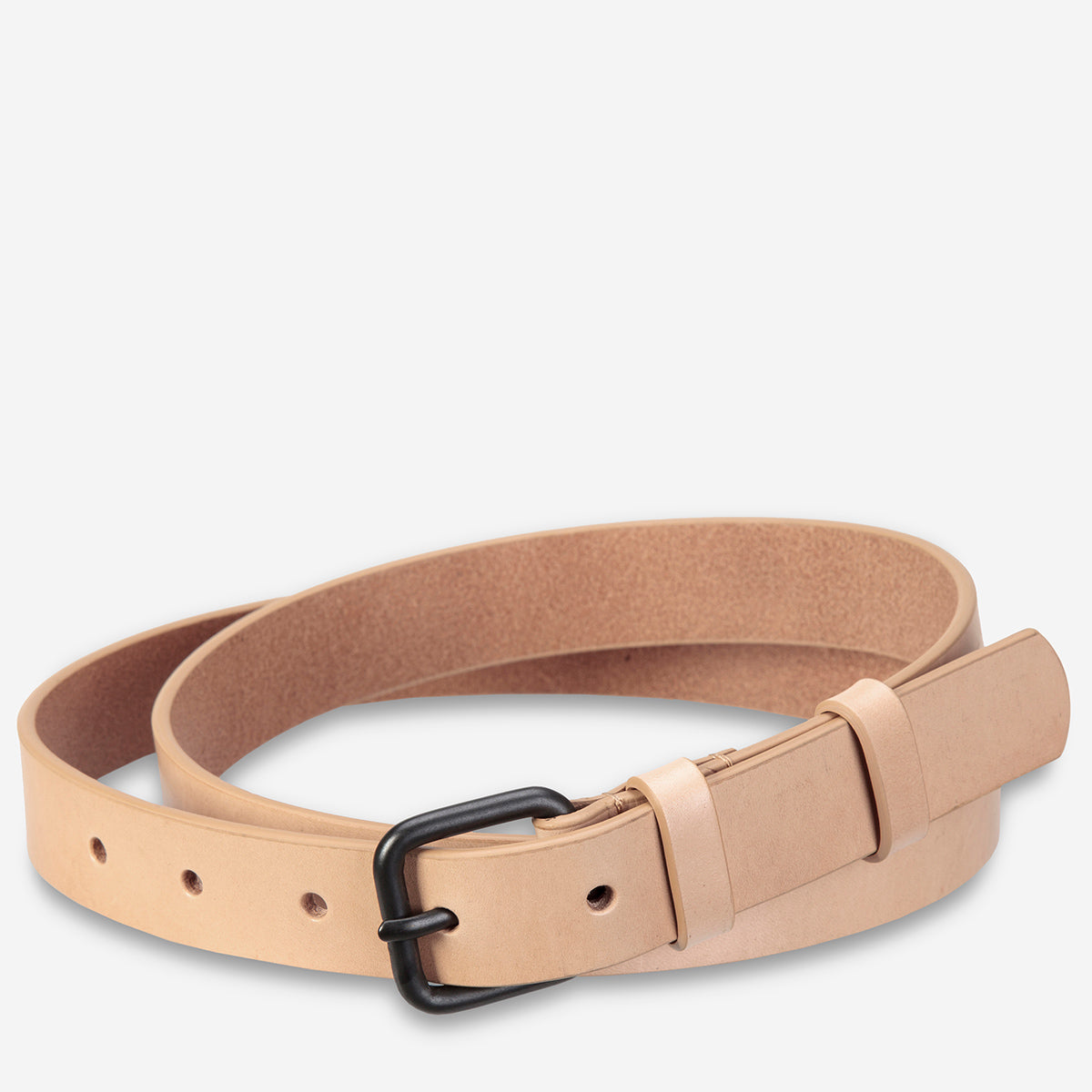 Status Anxiety Revelry Women's Leather Belt - Tan