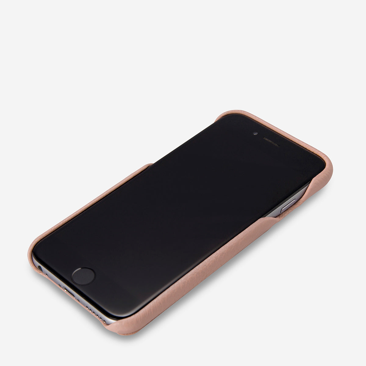 Status Anxiety Hunter and Fox Leather Phone Case - Dusty Pink