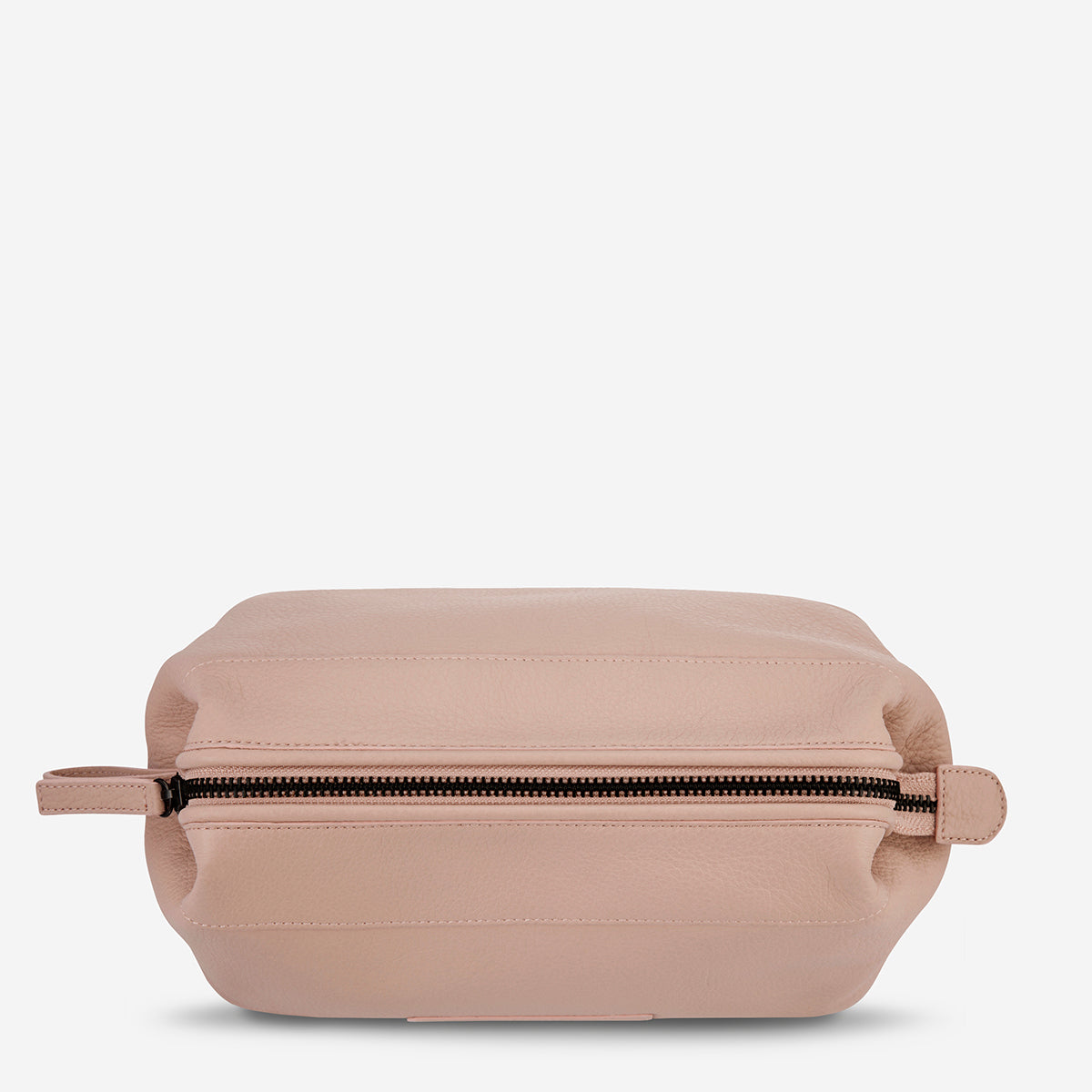 Status Anxiety Liability Leather Toiletries Bag - Dusty Pink