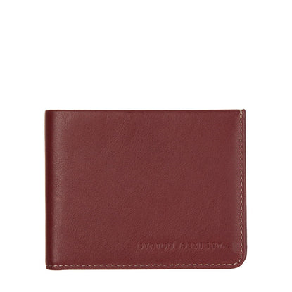 Status Anxiety Alfred Slim Leather Wallet - Cognac