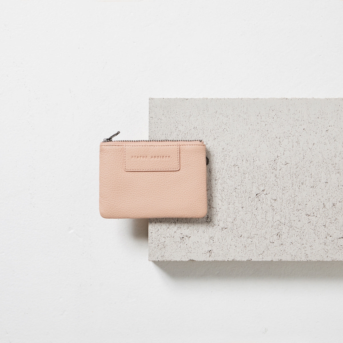 Status Anxiety Anarchy Wallet Dusty Pink