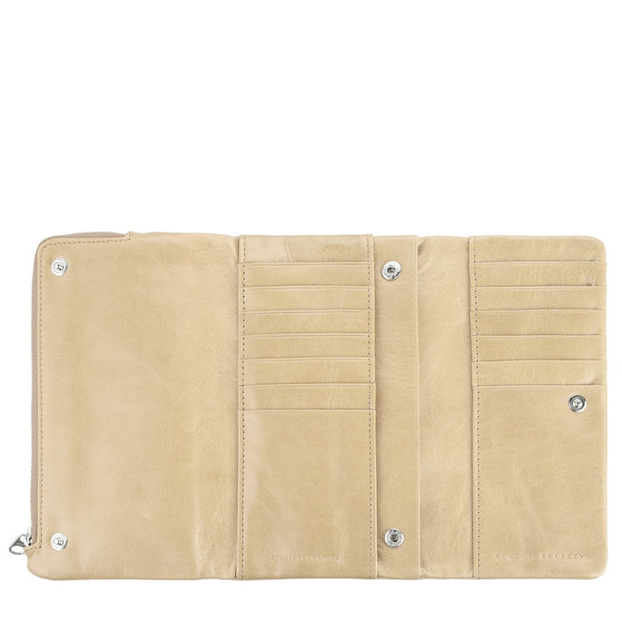 Status Anxiety Audrey Women's Leather Wallet - Nude