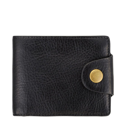 Status Anxiety Eli Men's Leather Wallet - Black