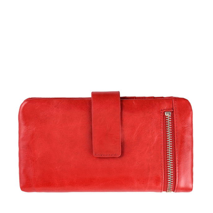 Status Anxiety Esther Large Leather Wallet - Red