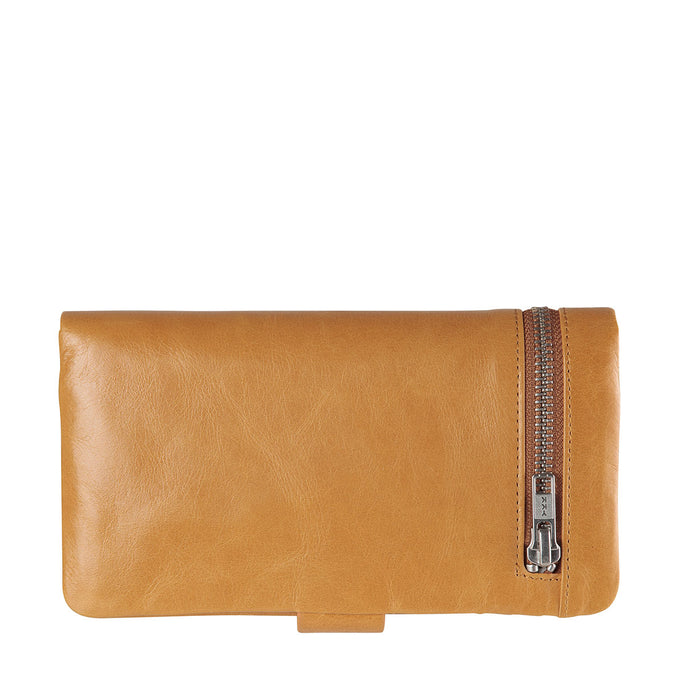 Status Anxiety Esther Large Leather Wallet - Tan