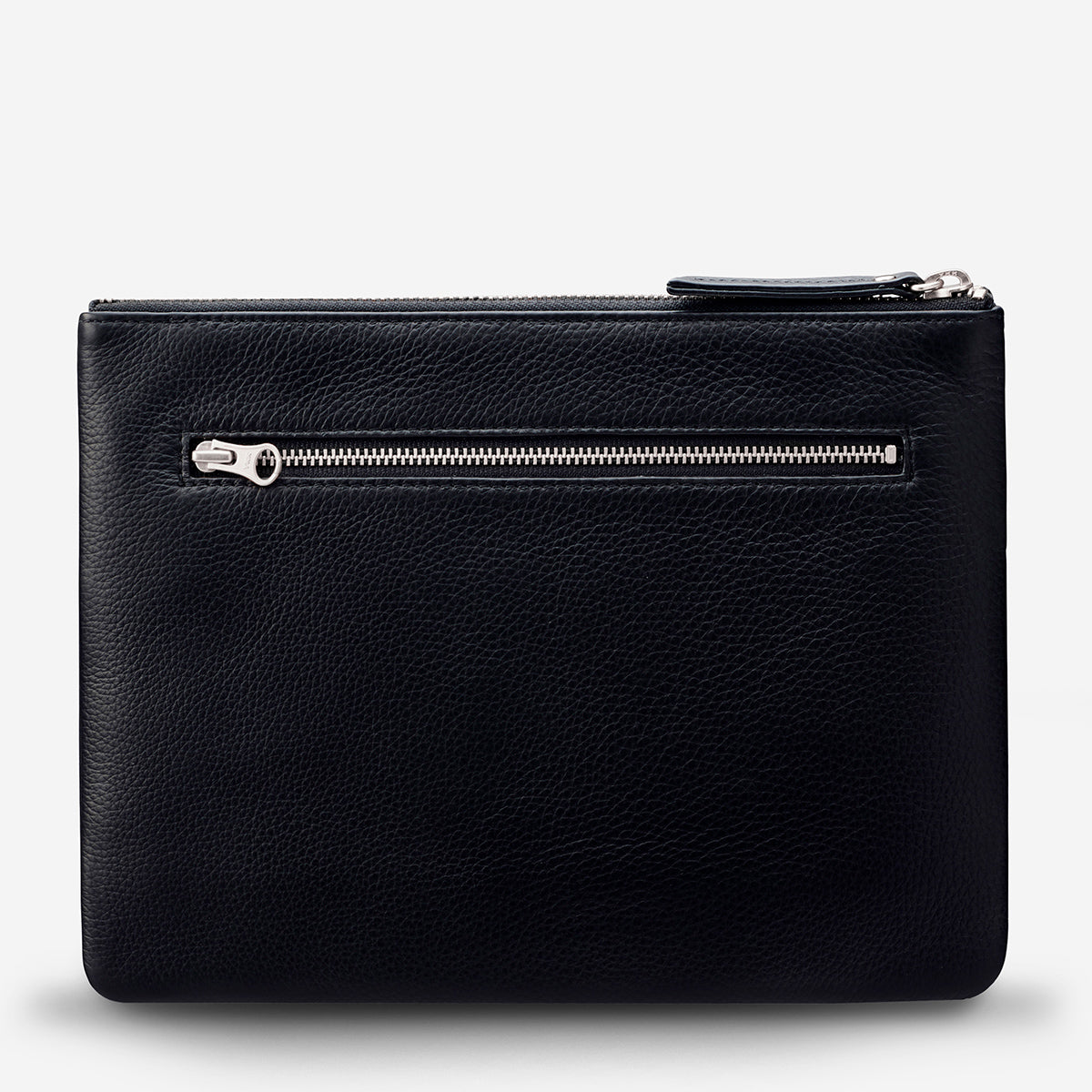 Status Anxiety Fake It Women's Leather Clutch Wallet Black