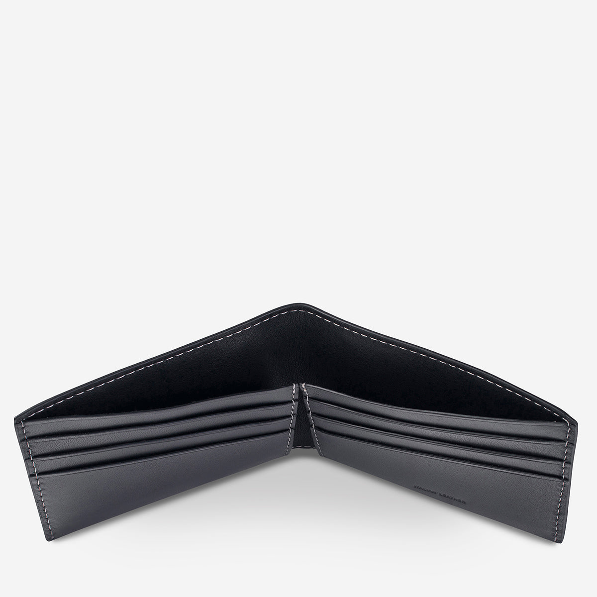 Status Anxiety Felix Bi-Fold Wallet - Black