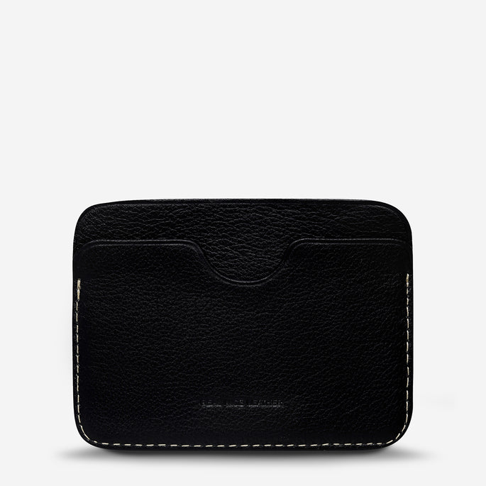 Status Anxiety Gus Wallet - Black