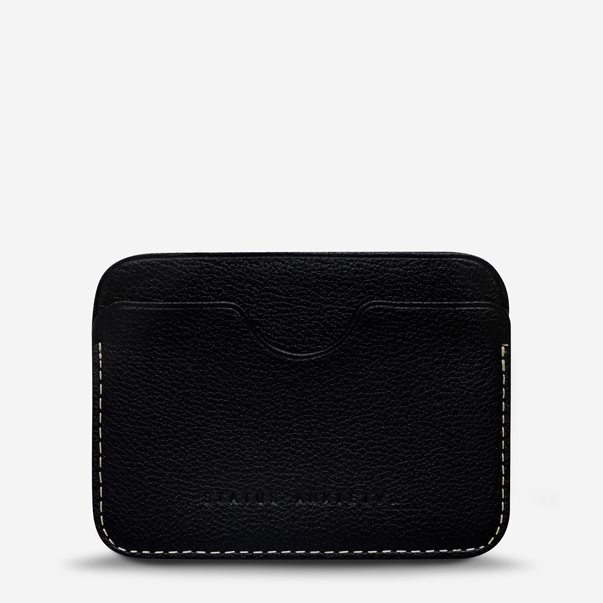 Status Anxiety Gus Card Wallet - Black