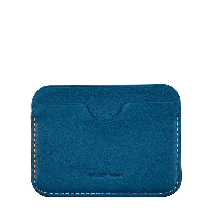 Status Anxiety Gus Card Wallet - Blue