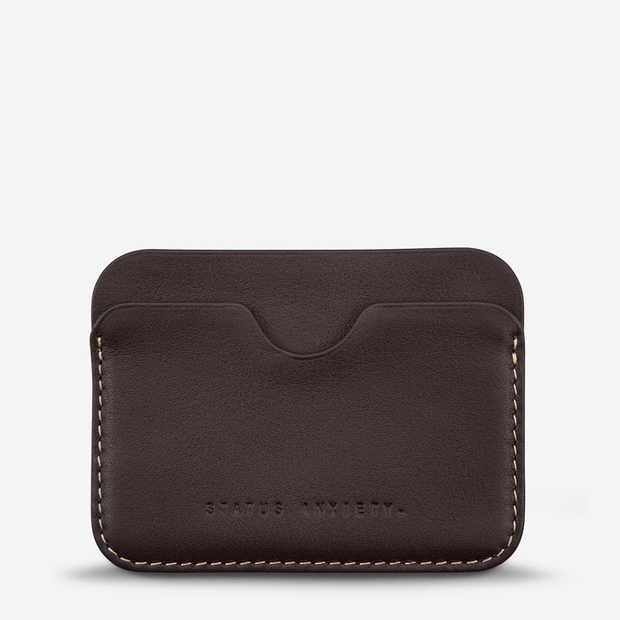 Status Anxiety Gus Wallet - Chocolate