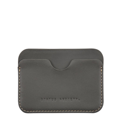 Status Anxiety Gus Card Wallet - Slate