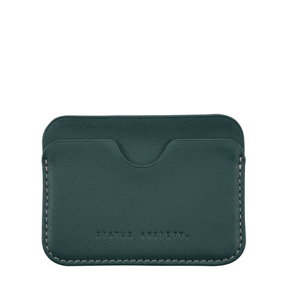 Status Anxiety Gus Card Wallet - Teal