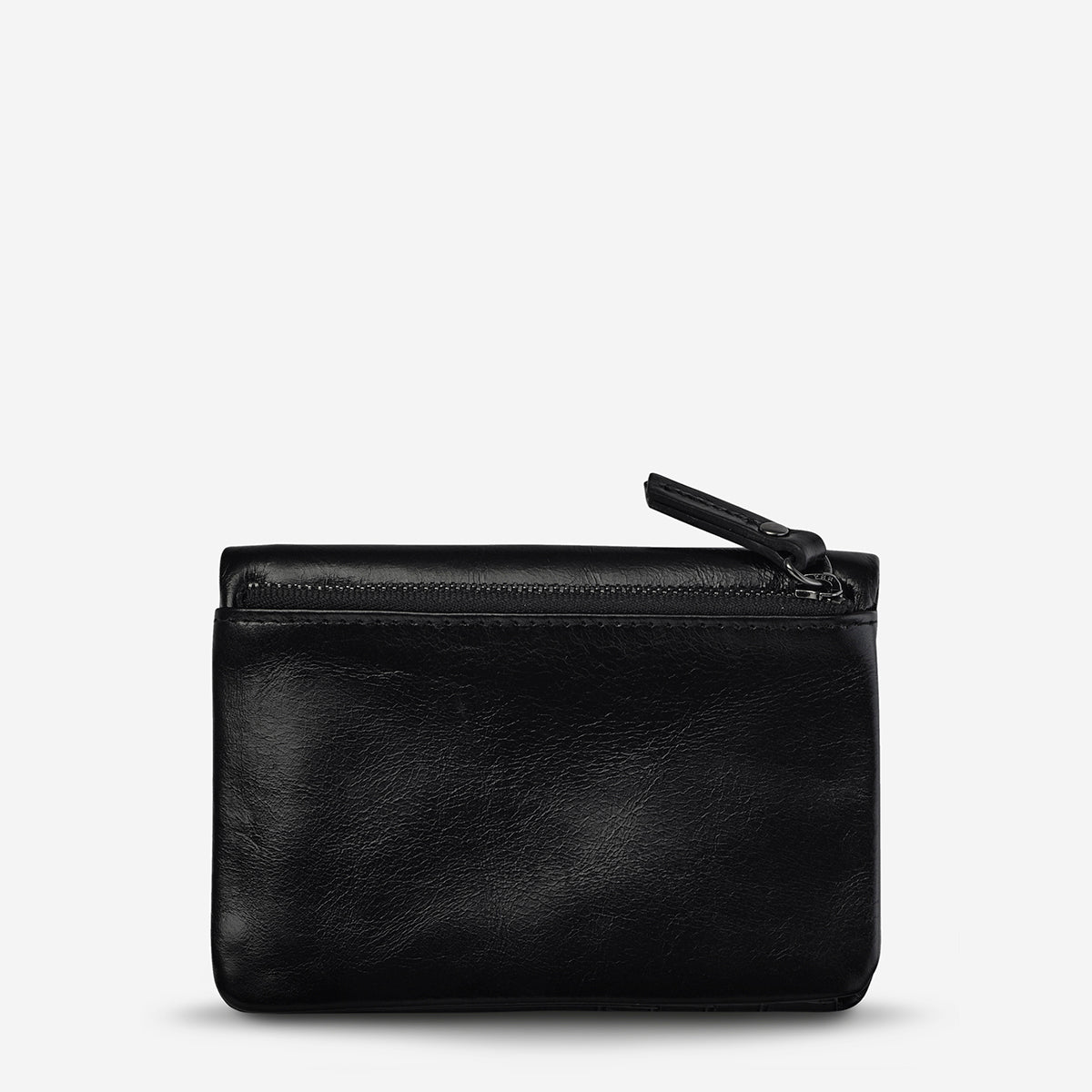 Status Anxiety Is Now Better Women's Leather Wallet Black