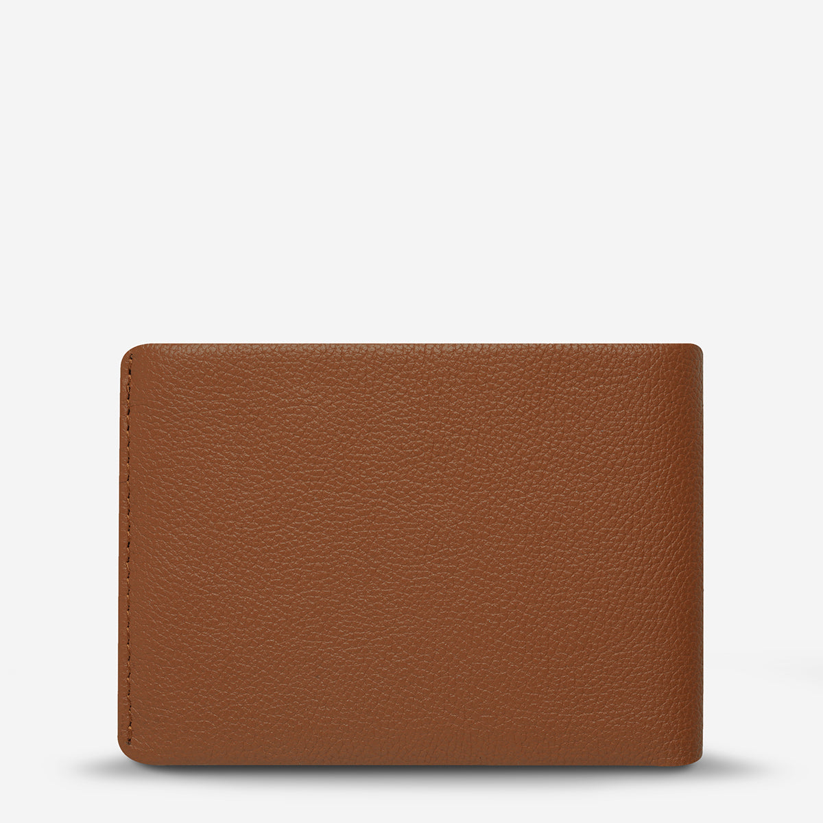 Status Anxiety Jonah Leather Bi-Fold Wallet - Camel