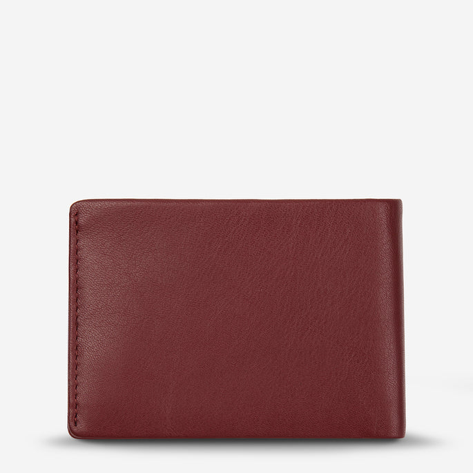 Status Anxiety Jonah Leather Bi-Fold Wallet - Cognac