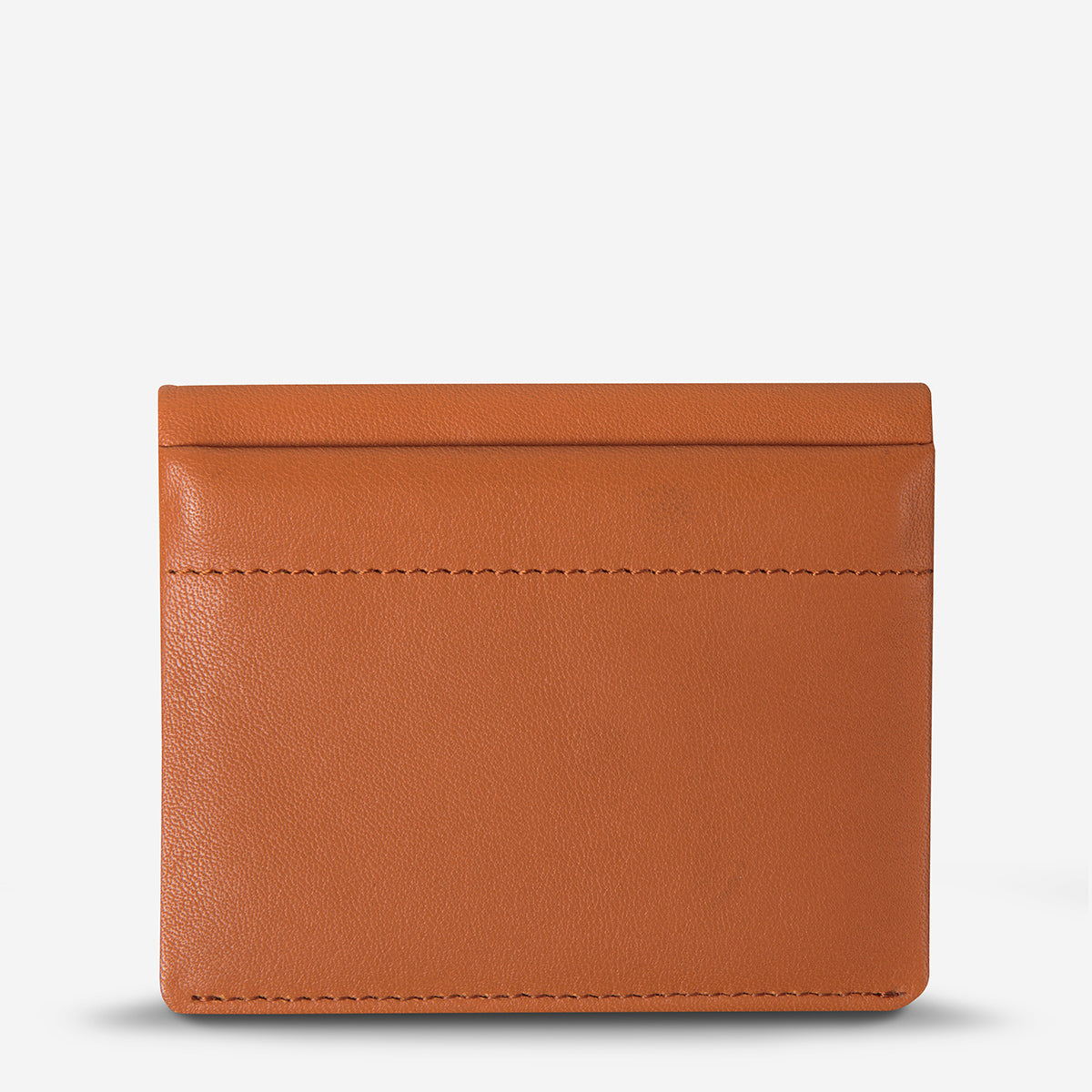 Status Anxiety Lennen Leather Wallet - Camel