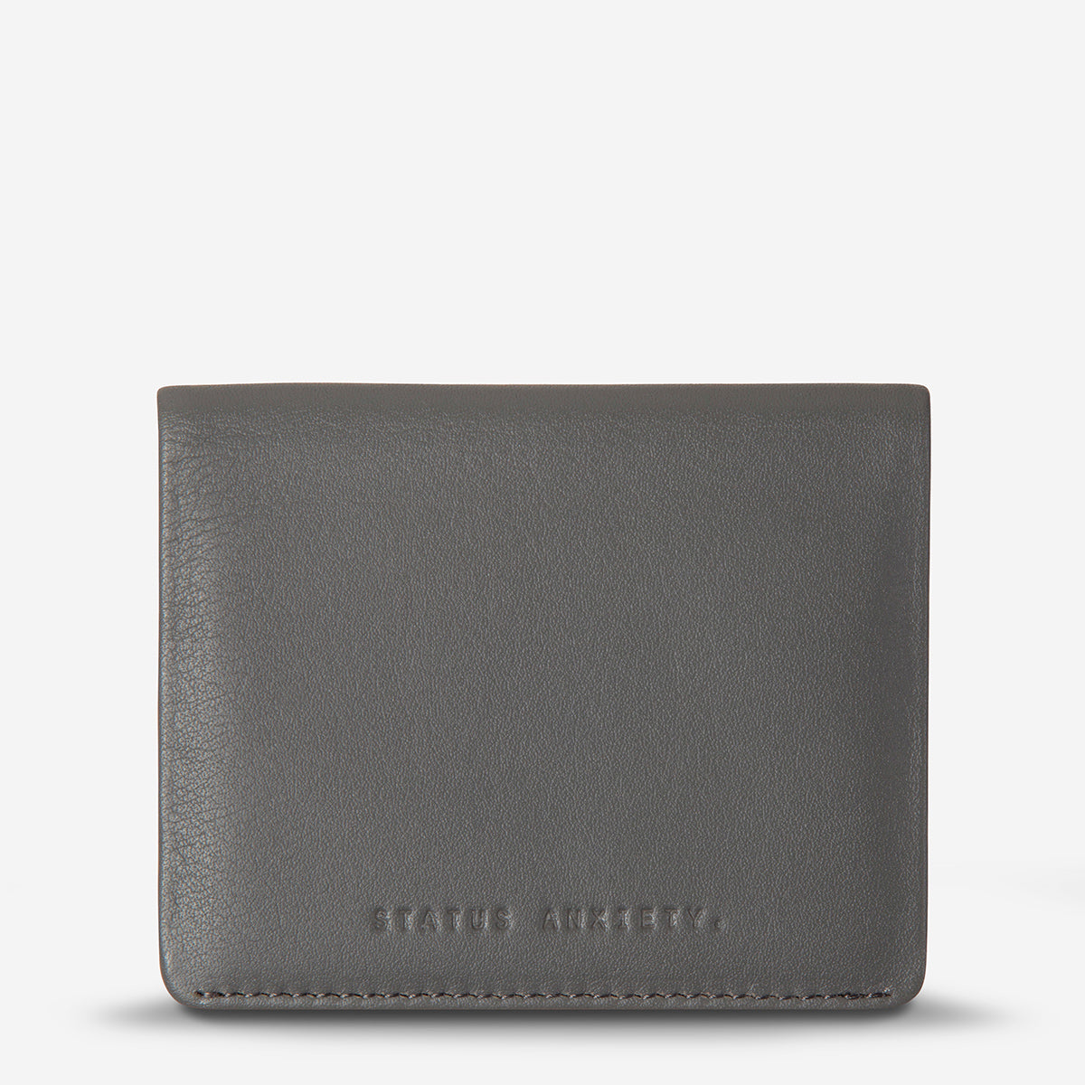 Status Anxiety Lennen Leather Wallet - Slate