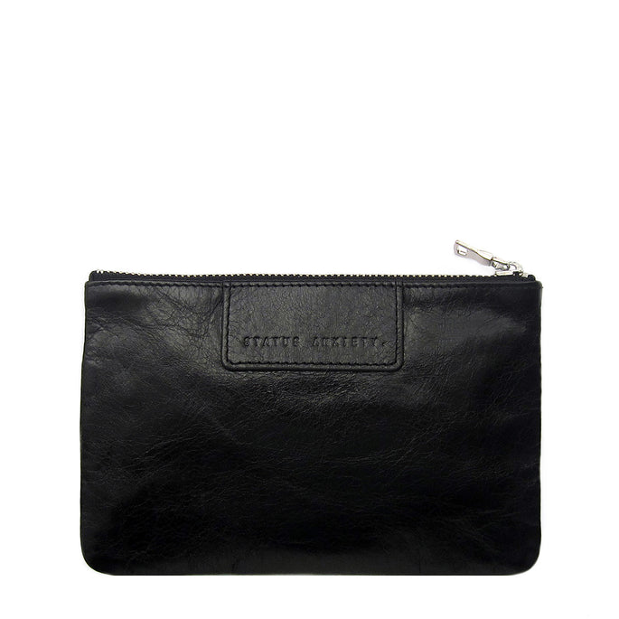 Status Anxiety Molly Women's Leather Wallet - Black