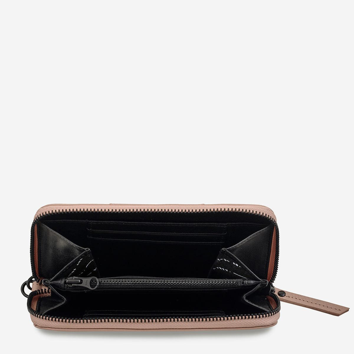 Status Anxiety Moving On Women's Leather Wallet - Dusty Pink