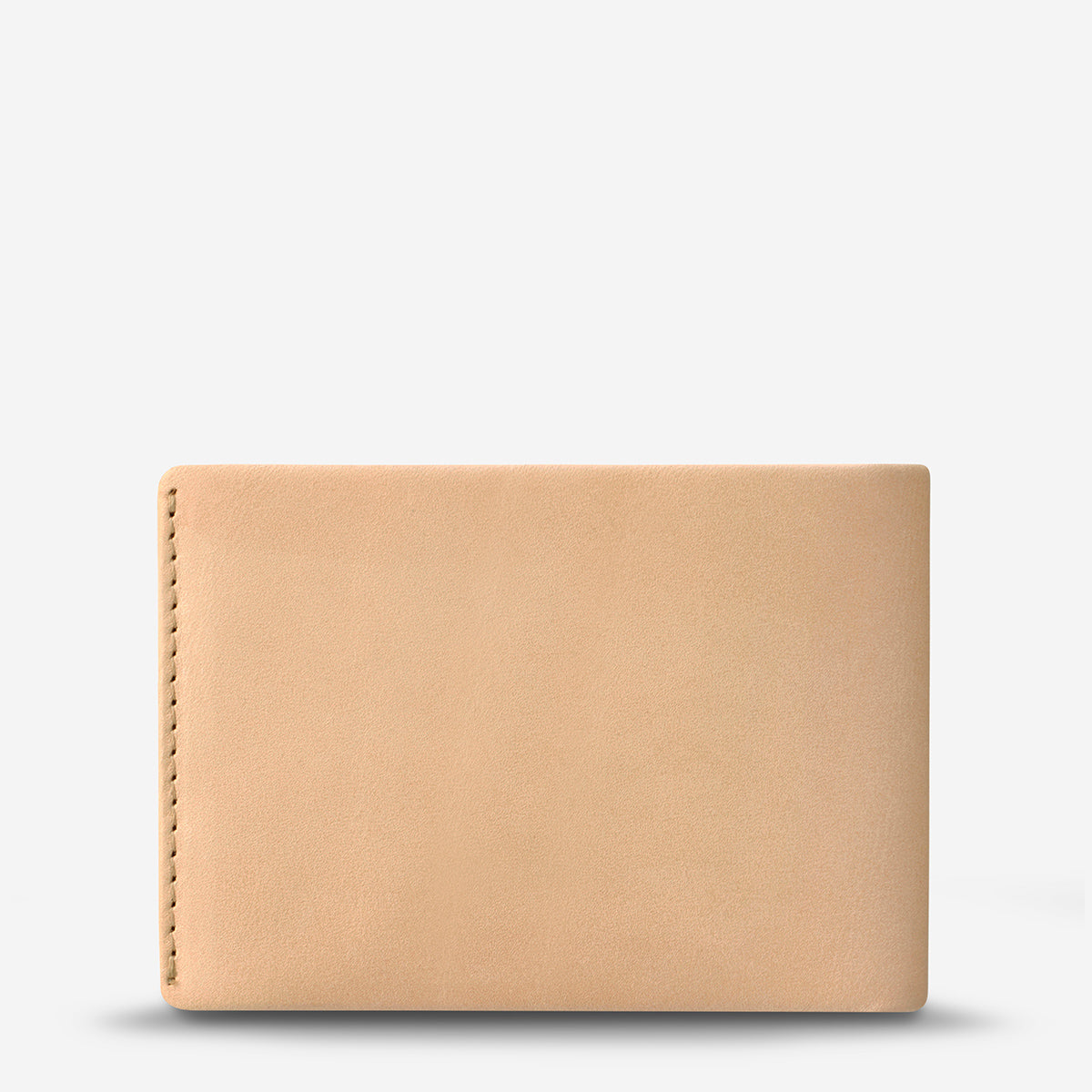 Status Anxiety Otis Men's Leather Bi-Fold Wallet - Tan
