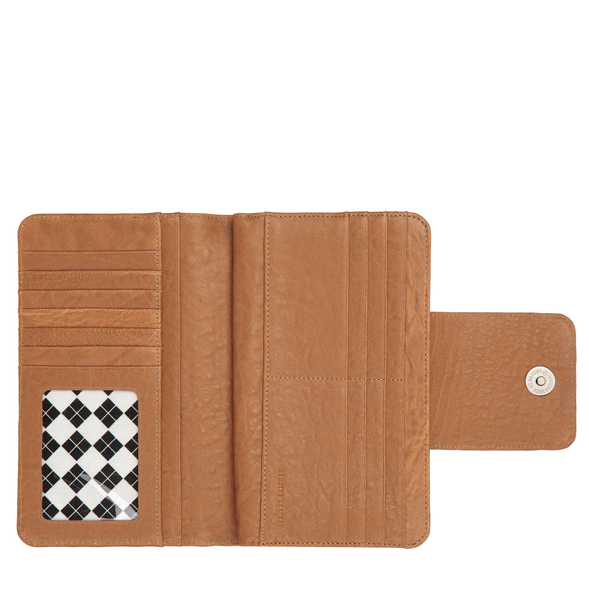 Status Anxiety 174 Leather Wallet Precipice Camel Shop