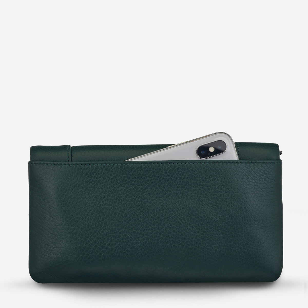 Status Anxiety Some Type Of Love Leather Wallet - Teal