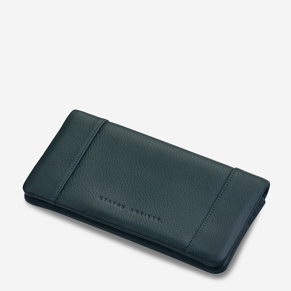 Status Anxiety Some Type Of Love Women's Leather Wallet Teal