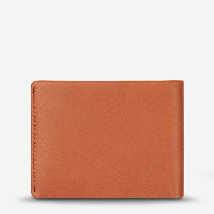 Status Anxiety Tobias Leather Wallet - Camel