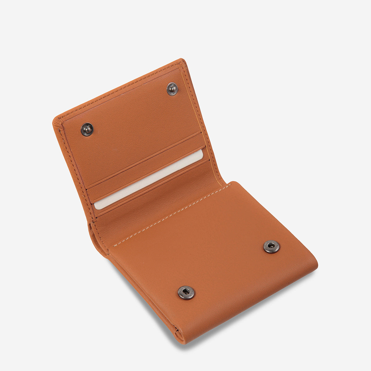 Status Anxiety Vincent Leather Wallet - Camel