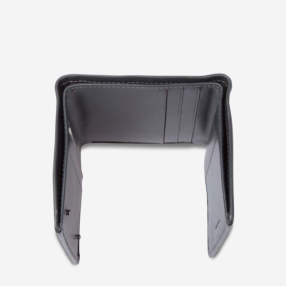 Status Anxiety Vincent Leather Wallet - Charcoal