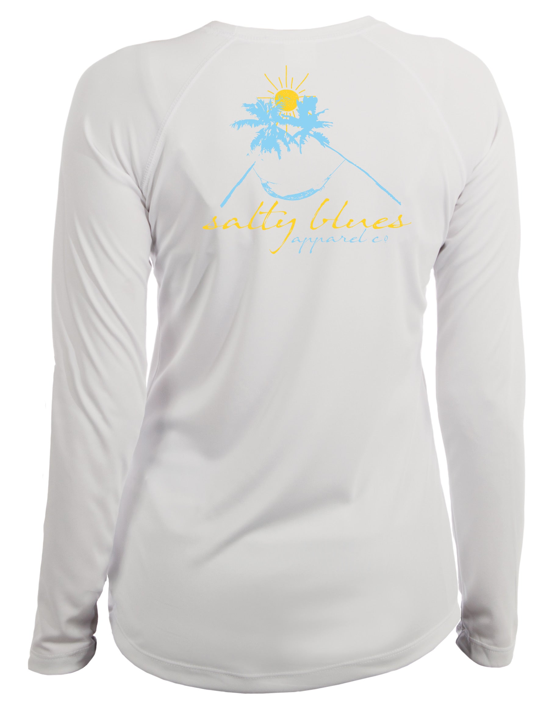 Hammock Sunset Women's Performance - Women's Performance Shirt - Salty Blues