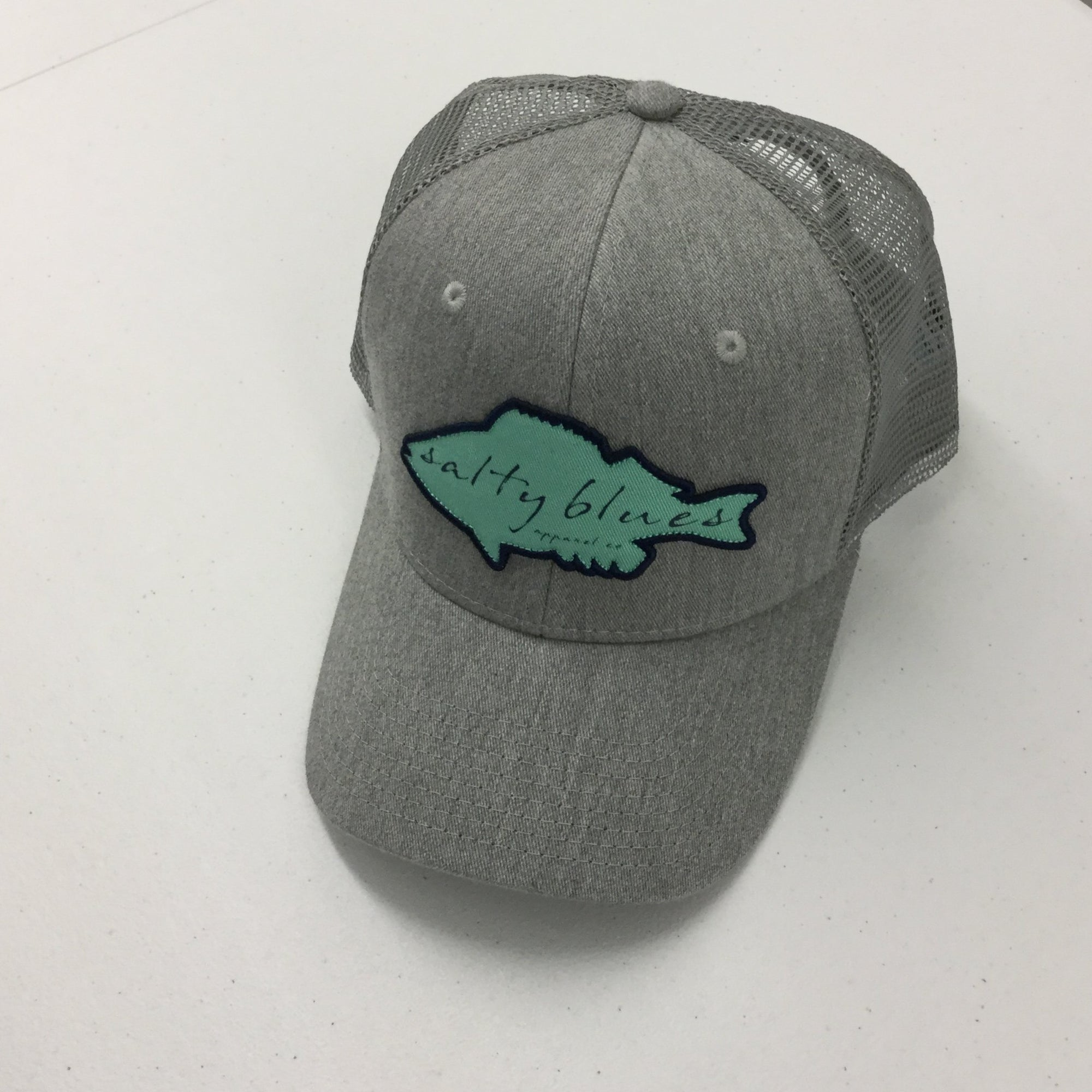 Deep Waters Trucker Hat - Hats - Latitudes & Attitudes LLC