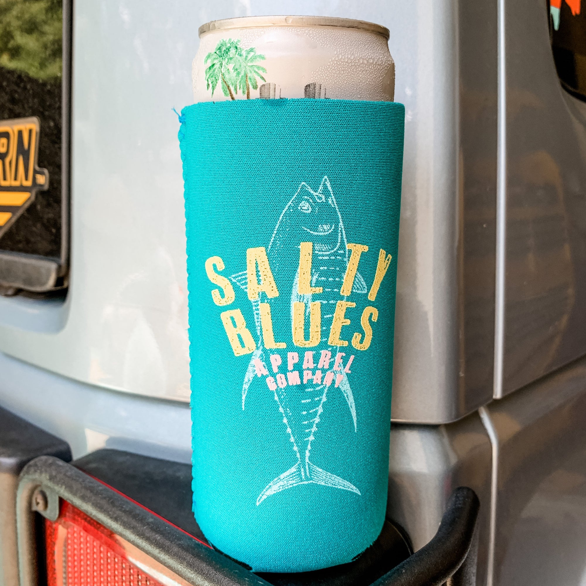Slim Can Koozie - Sea Branded - Koozie - Latitudes & Attitudes LLC