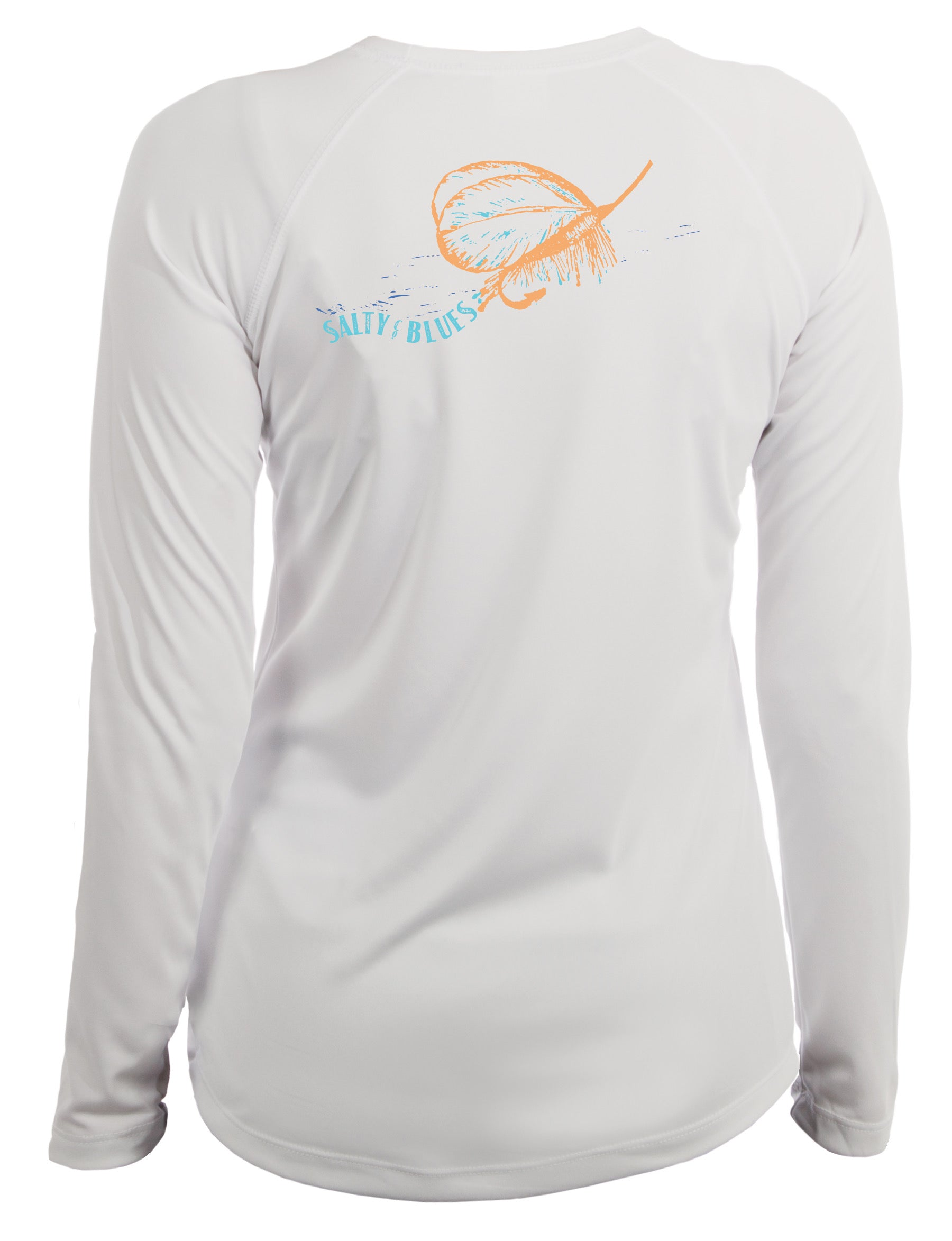 Lured Women's Performance - Women's Performance Shirt - Salty Blues