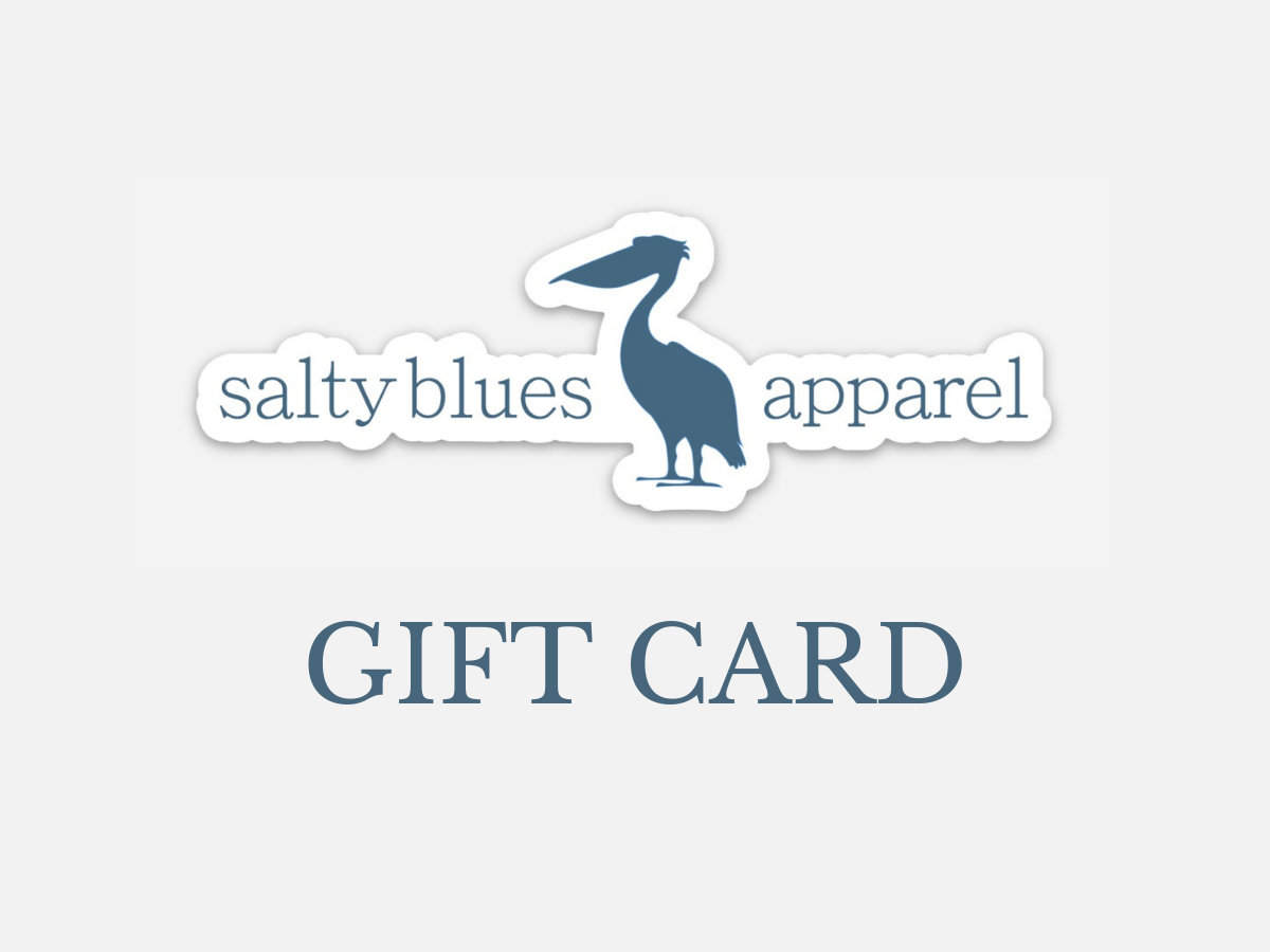 Salty Blues Gift Card - Gift Card - Latitudes & Attitudes LLC