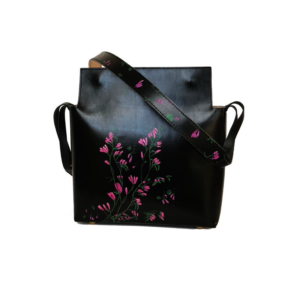 Sakura Leather Crossbody Bag Spring Summer Collection 2018