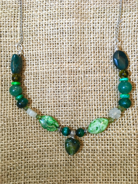 Grandpa - Beautiful Green Necklace