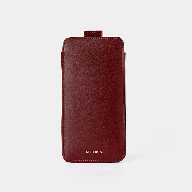 Pouzdro pro Apple iPhone 7 Plus, burgundy-ANTORINI®