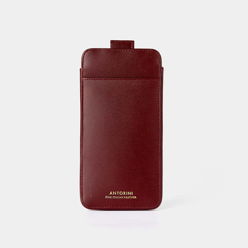 Pouzdro pro Apple iPhone 8 Plus, burgundy-ANTORINI®