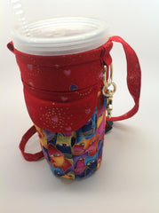 24oz Tumbler or beverage cup sleeve with a pocket