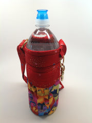 Insulated Bottle Carrier with Pocket