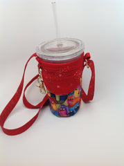 Insulated 16oz Tumbler Sleeve with a Pocket