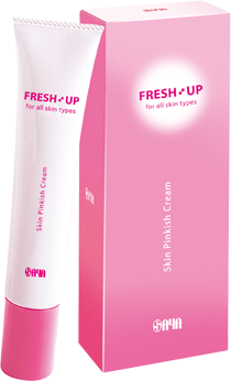 FRESH UP Skin Pinkish Cream