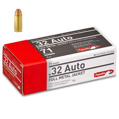 Aguila .32 ACP Auto Full Metal Jacket 71 Grain 50 Round Box
