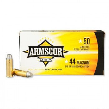 Armscor USA 44 Mag 240 Gr (50)