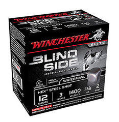 "Winchester Blindside 12 Gauge 3.5"" 1-3/8 oz 5 Shot 25 Round Box SBS12LHV5"