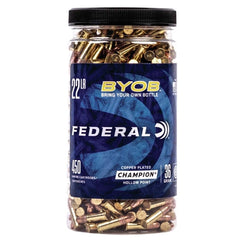 Federal 22 LR 36 Gr Copper-Plated HP BYOB (450)